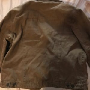 Men's Levi's Heavy Canvas Brown Jacket Size L